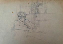 John Minton - Pencil 1948/9
