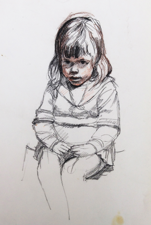 Johanna Study - Pencils 1969