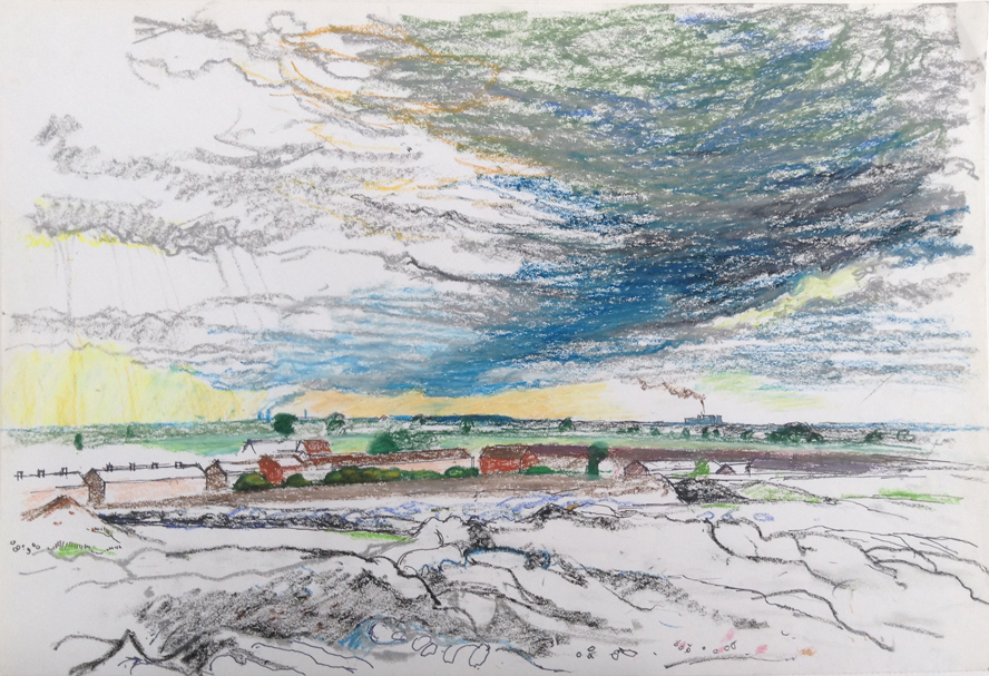 Hatfield Main Colliery Scape Study