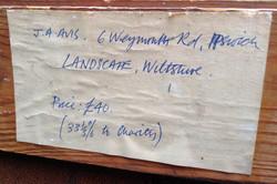 Painting Exhibit Label