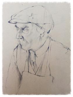 Sketchbook Drawing - John Minton