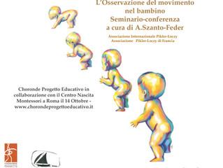 Conferenza: L'osservazione del movimento nel bambino