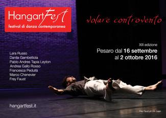 Al via la XIII edizione di Hangartfest, festival di danza contemporanea
