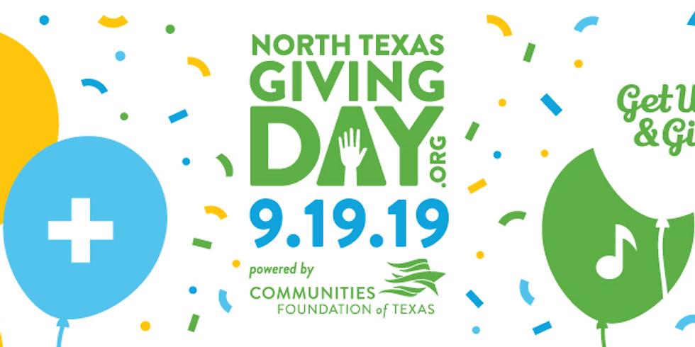 North Texas Giving Day 2019 #NTXGivingDay