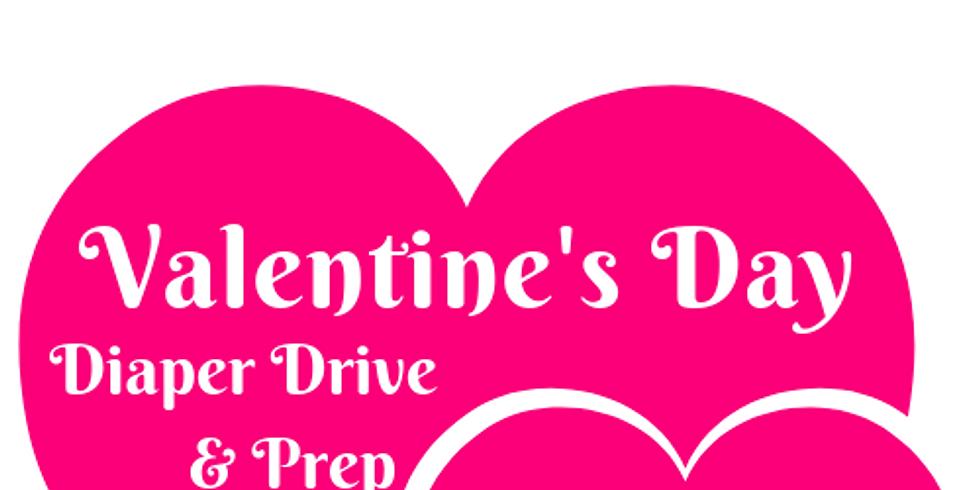 Valentine's Day Diaper Drive & Prep
