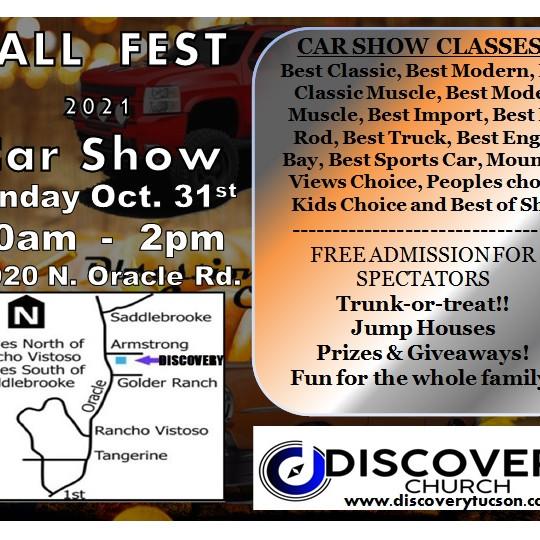Discovery Church Fall Fest Car Show 2021