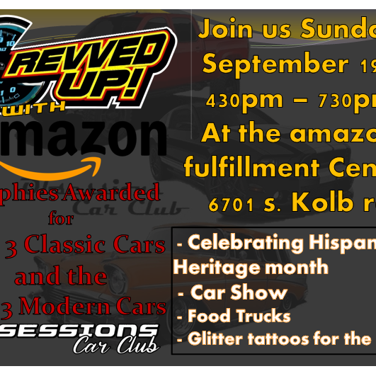 REV'VED UP! with amazon!