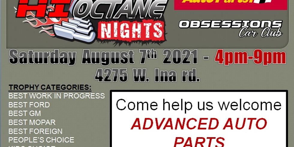 HI-Octane Nights at Advanced Auto Parts
