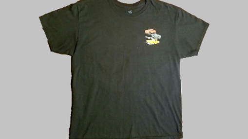 Obsessions Car Club T-Shirt- Black