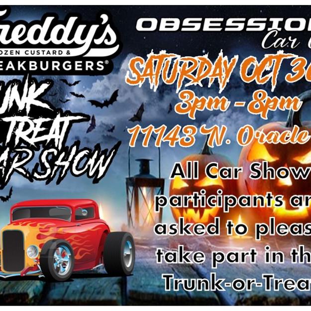 5th Annual Freddy's Halloween Trunk-or-Treat Car Show!