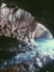 Jojo rushing water.JPG