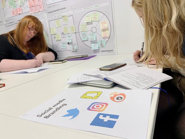 Interactive Social media Branding worksh