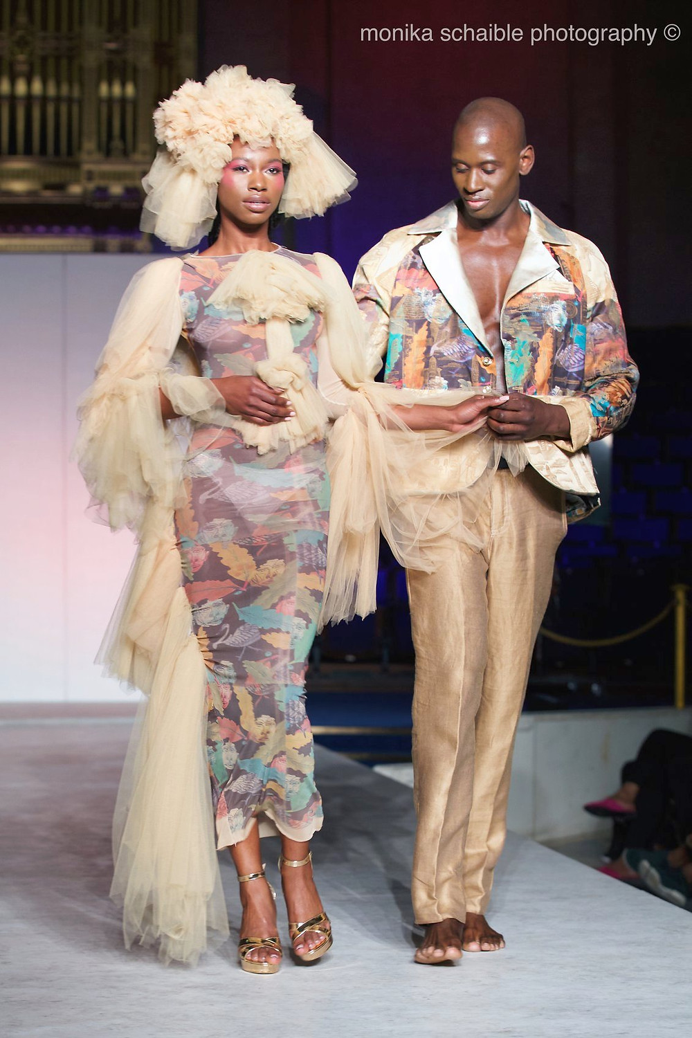 models: Aida Ouro and Hassan Reese