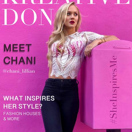 Influencer spotlight of the week -Chani Lillian