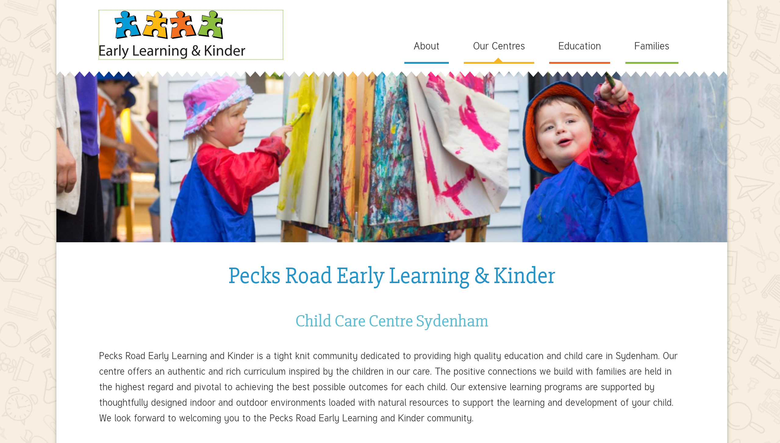 Early Learning & Kinder