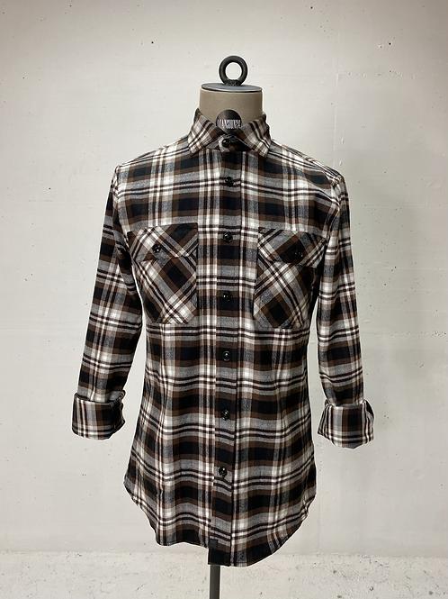Strellson Flannel Shirt Brown