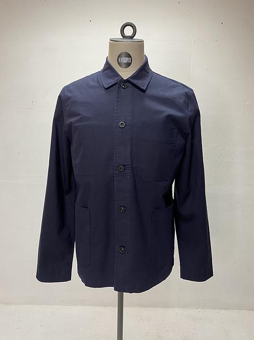 DENHAM Pocket Shirt Navy