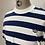 Thumbnail: Adidas Originals Stripe T White | Navy