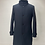 Thumbnail: Drykorn Wool High Collar Coat Navy
