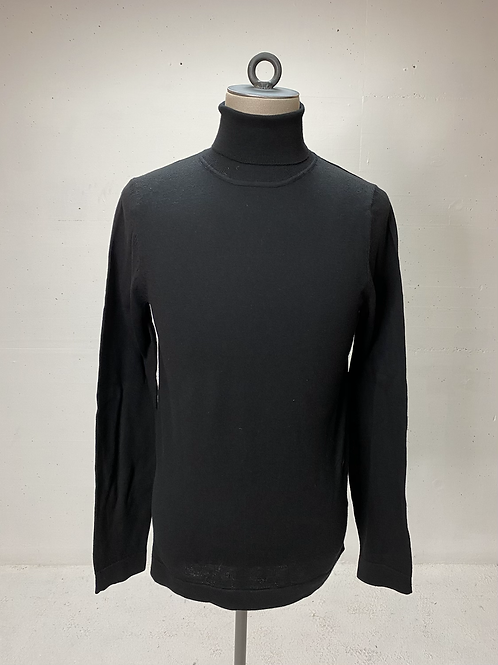 Drykorn Virgin Wool Turtle Knit Black