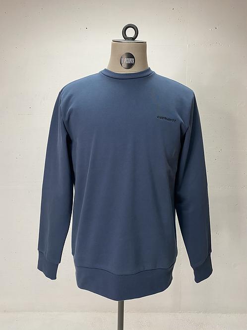 Carhartt Script Crew Sweater Anthracite
