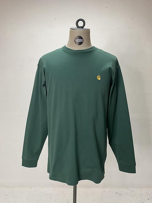 Carhartt Logo Long Sleeve Green