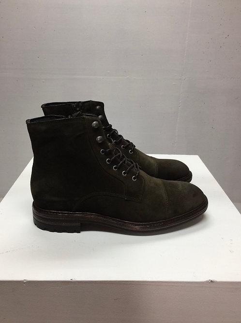 Blackstone Dark Olive Suede Boots