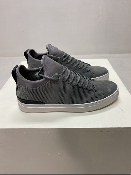Blackstone Leather Sneaker Grey Flannel