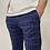 Thumbnail: Drykorn Checkered Stretch Pants Navy