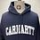 Thumbnail: Carhartt University Hoodie Dk. Navy