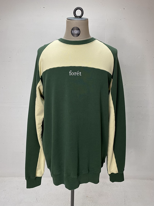 Forét Crew Colorblock Sweat