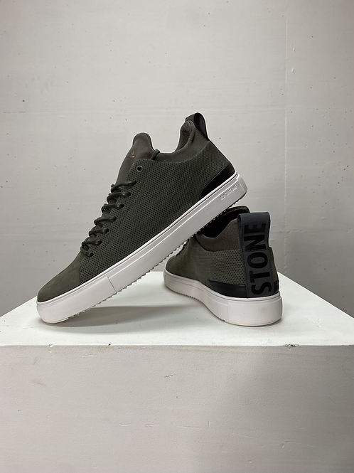 Blacktone Leather Sneaker Tarmac