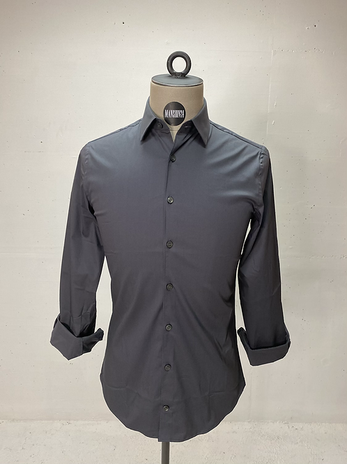 T of S Dressed Stretch Shirt Grey