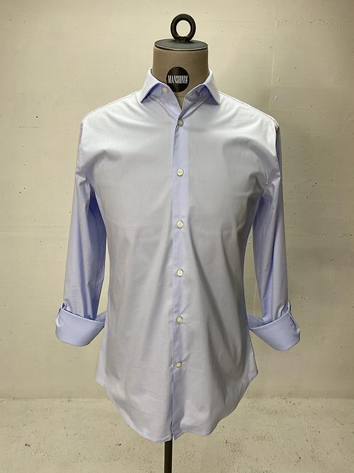 T of S Dressed Stretch Shirt Lt Blue