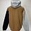 Thumbnail: Carhartt Tri-Colour Hoodie Brown/Grey/Black