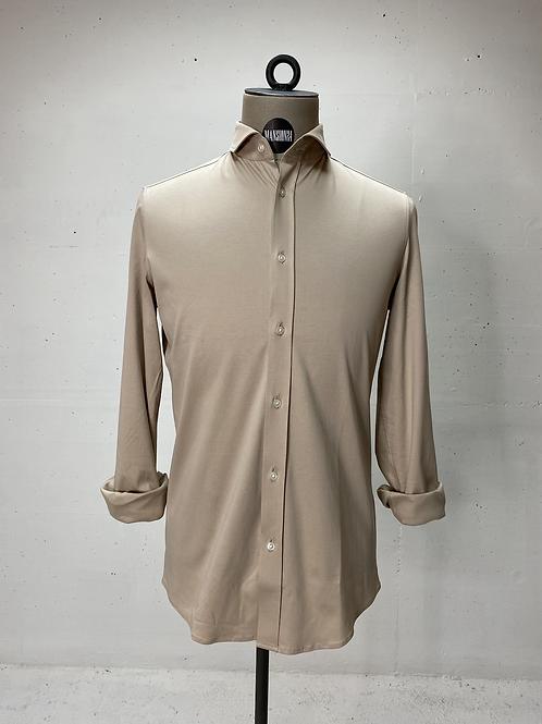 Drykorn Dressed Stretch Shirt Beige