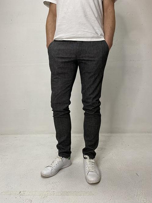 Drykorn Woolen Stretch Pant Grey