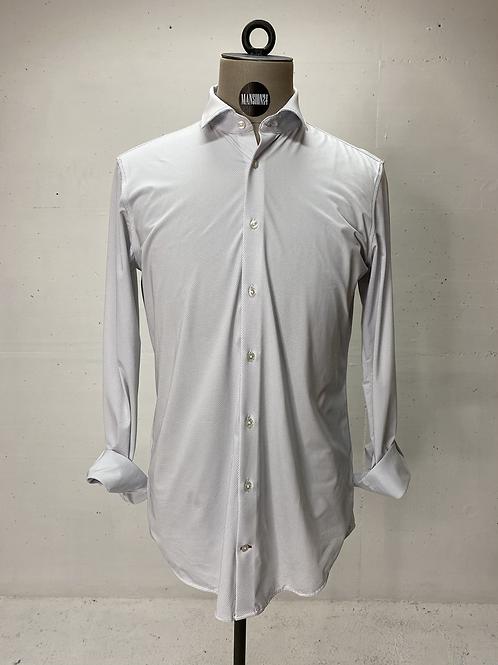 Strellson Dressed Stretch White Dot Shirt