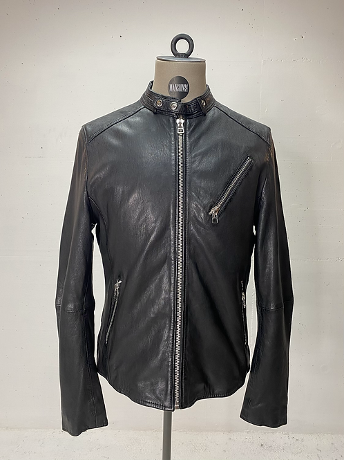 Goosecraft Leather Biker Jacket