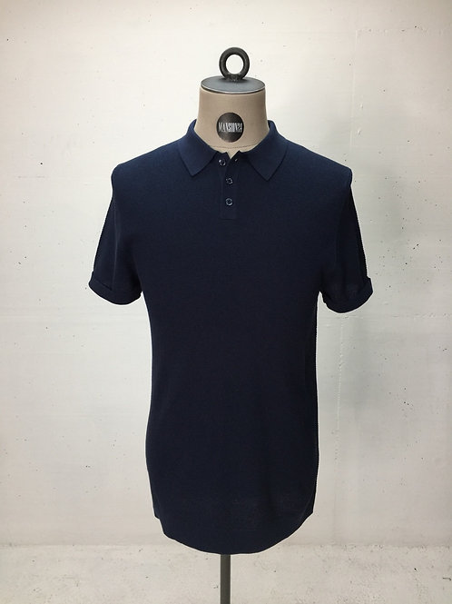 Drykorn Knit Polo Navy