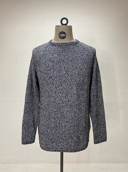 Strellson Crew Knit Blue/Grey