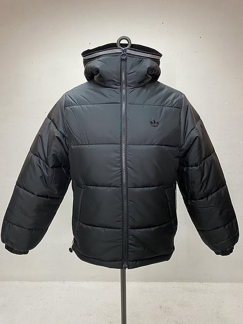Adidas Hooded Puffer Jacket Black