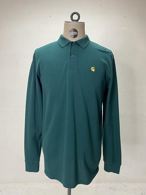 Carhartt Long Sleeve Polo Green