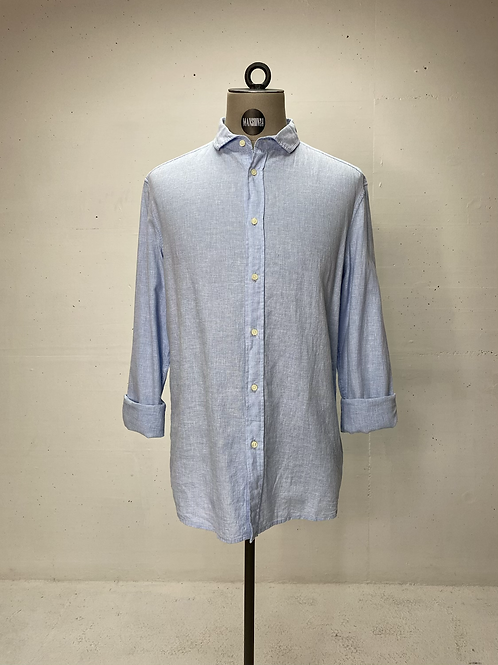 Drykorn Mini Check Shirt Blue