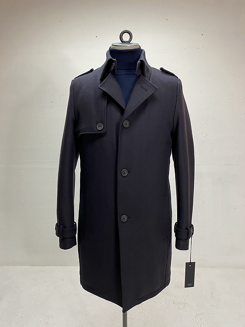 Drykorn Woolen Coat Dk Marine