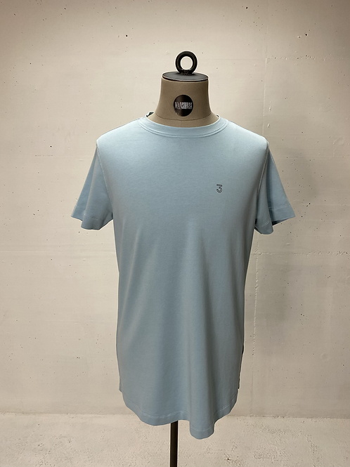 Koll3kt s/s Tee Light Blue