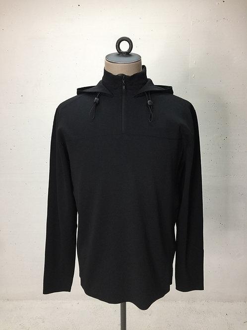 Drykorn 'Drynamic' Hood Zip Sweat Black