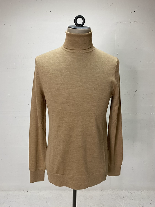 T of S Virgin Wool Turtle Beige