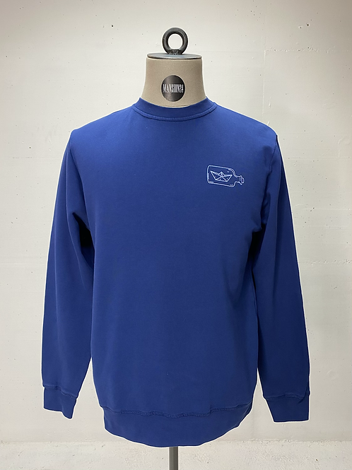 Klitmøller Message Sweat Blue