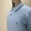Thumbnail: DENHAM Stripe Polo Dusk Blue